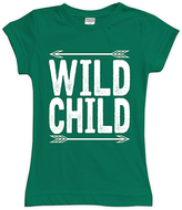 Urban Smalls Kelly Green 'Wild Child' Fitted Tee - Toddler & Girls