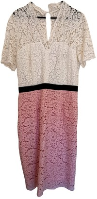 SET Pink Lace Dress for Women