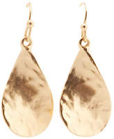 Jones New York Hammered Fishook Earring
