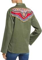 Tricia Fix Embellished Army Jacket - 100% Exclusive