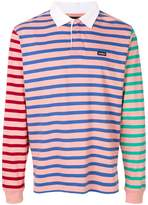 Stussy Jonah striped rugby sweatshirt