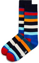 Happy Socks Men's Bold Stripe Socks
