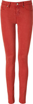 Antique Red Skinny Jeans