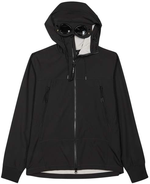 C.P. Company Goggle Black Shell Jacket