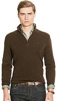 Polo Ralph Lauren Merino Mock Neck Half-Zip Sweater