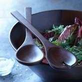 Williams Sonoma Open Kitchen Wooden Salad Servers