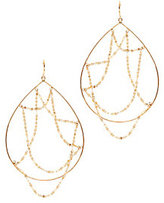 Lana Oval Web Hoop Earrings