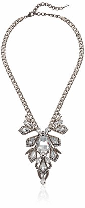 Sorrelli Lisa Oswald Collection Women's Stunning Crystal Statement Necklace