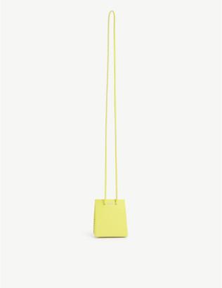 Medea Mini leather cross-body tote bag