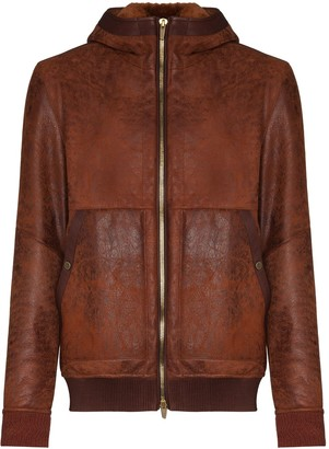Ajmone Lacon hooded jacket