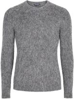 Aquascutum London Men's Victor Alpaca Crew Neck