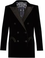 BLAZÉ MILANO Everyday Jealousy cotton-velvet blazer