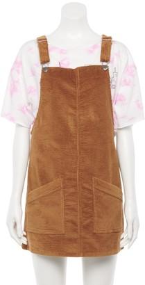 So Juniors' Pinafore Dress