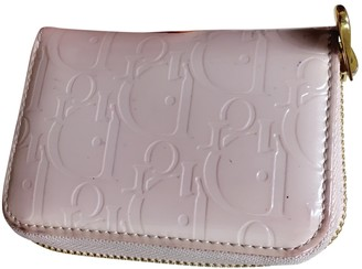 Christian Dior Pink Patent leather Purses, wallets & cases