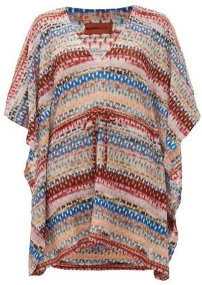 Missoni Mare - Metallic Knitted Kaftan - Multi