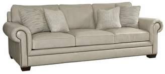 Bernhardt Grandview Leather Sofa