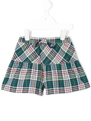 Familiar checked shorts