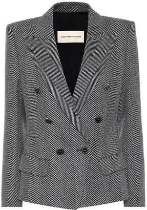 Alexandre Vauthier Wool-herringbone blazer