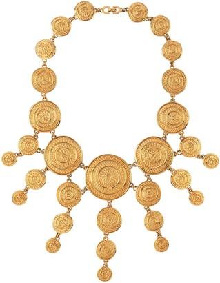 Susan Caplan Vintage 1980s Vintage Christian Dior Egyptian Revival Necklace