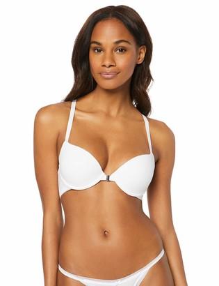 Iris & Lilly Amazon Brand Women's Front Closure Push-Up Cotton Bra