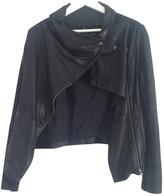 Muu Baa Muubaa Black Leather Jacket for Women