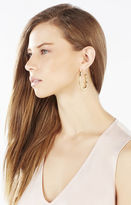 BCBGMAXAZRIA Bamboo Hoop Earrings