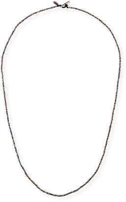 Men's Imperial Sterling Silver Bead Cord Necklace