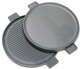 Barbour 7414 Bayou Classic Cast Iron Reversible Round Griddle -14 inch