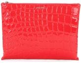 Miu Miu Eva Embossed Fabric Clutch