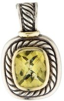 David Yurman Two-Tone Citrine Albion Enhancer