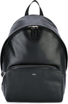 Tod's zip around backpack - men - Cotton/Calf Leather - One Size