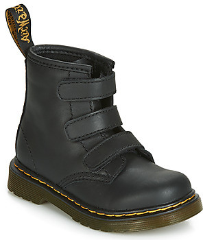 Dr. Martens 1460 STRAP TODDLER girls's Mid Boots in Black