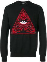 Givenchy Illuminati knit jumper - men - Cotton/Polyamide/Viscose/Wool - M