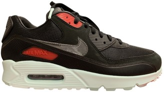 Nike 90 Black Suede Trainers