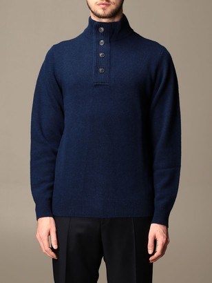 Barbour Wool Pullover With Buttons