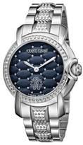 Roberto Cavalli Men's Quartz Silver Stainless Steel Bracelet Watch.