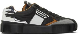 Dolce & Gabbana Black Miami Sneakers