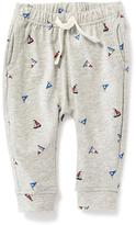 Old Navy Sailboat-Printed Drawstring Pants for Baby