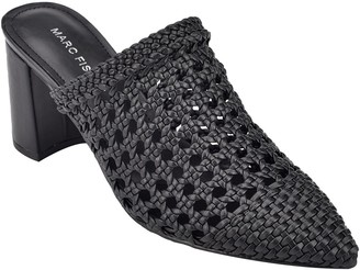 Marc Fisher Perforated Heeled Mule