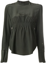 Neil Barrett fitted blouse - women - Silk - M