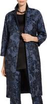 St. John Floral Brocade Jacket