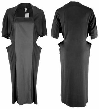 Format Wrap Dress - black / XS