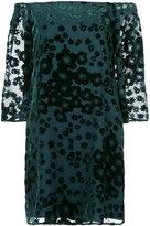 Trina Turk floral print off-the-shoulder dress