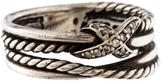 David Yurman Diamond X Ring