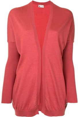 Colombo Open Front Rib-Trimmed Cardigan
