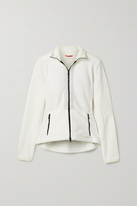 Erin Snow Freja Fleece Ski Jacket - White