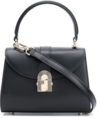 Furla Sleek hardware detail tote bag