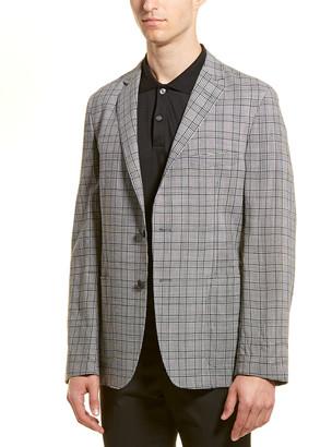 Hickey Freeman Wool Sport Coat