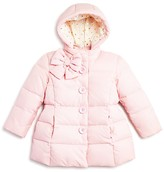 Kate Spade Infant Girls' Bow Down Puffer Coat - Sizes 6-24 Months