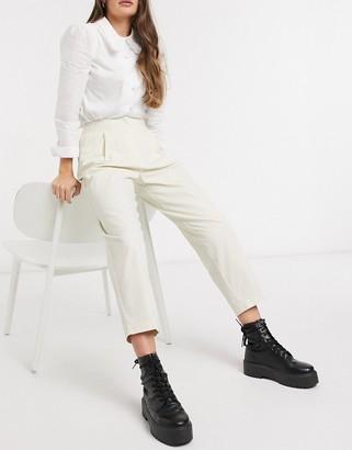 Monki Mona pants in white